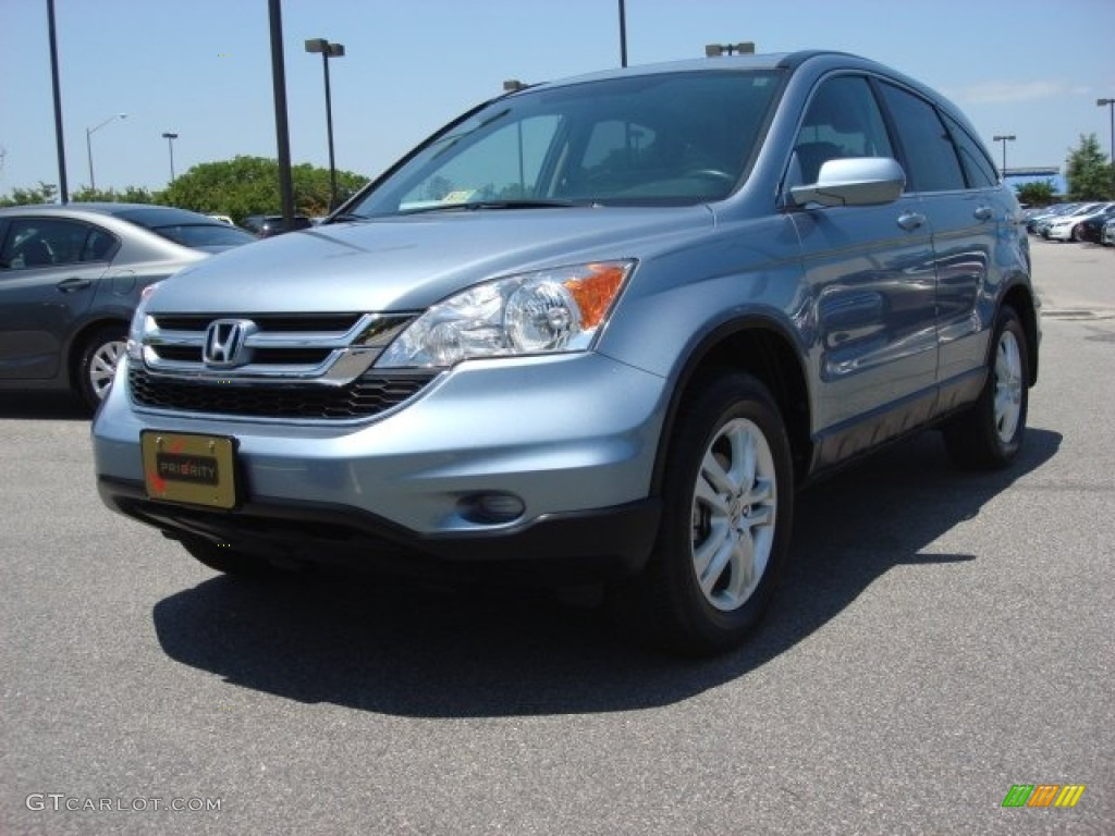 Glacier Blue Metallic Honda CR-V