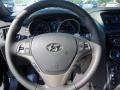 2013 Black Noir Pearl Hyundai Genesis Coupe 3.8 Grand Touring  photo #13