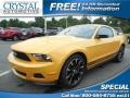 2011 Yellow Blaze Metallic Tri-coat Ford Mustang V6 Coupe #81870764