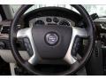 2013 Cadillac Escalade Cocoa/Light Linen Interior Steering Wheel Photo