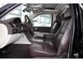 2013 Cadillac Escalade Cocoa/Light Linen Interior Front Seat Photo