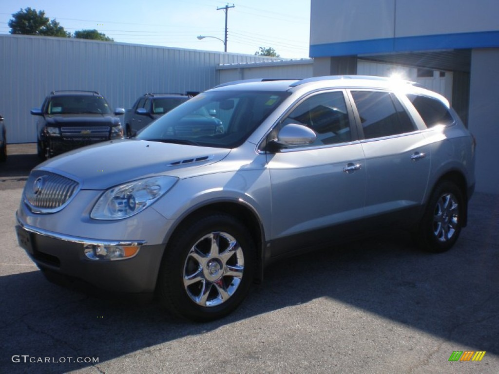 2010 Enclave CXL AWD - Quicksilver Metallic / Ebony/Ebony photo #1