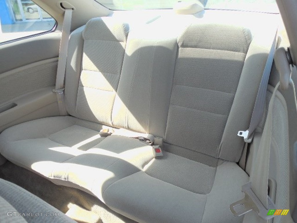 1997 Honda Accord Lx Coupe Rear Seat Photo 81897714