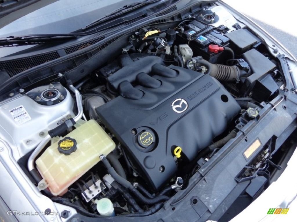 2004 mazda mazda6 s sport wagon engine photos. Black Bedroom Furniture Sets. Home Design Ideas