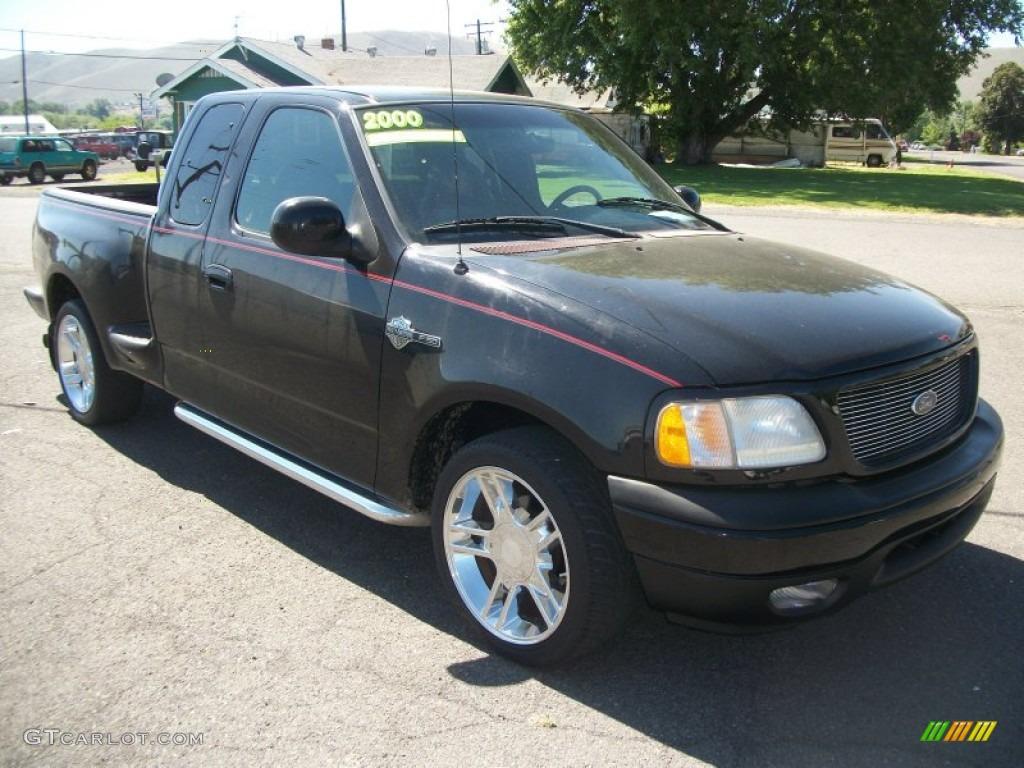 black 2000 ford f150 harley davidson extended cab exterior photo 81904388. Black Bedroom Furniture Sets. Home Design Ideas