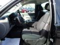 2012 Black Chevrolet Silverado 1500 Work Truck Regular Cab 4x4  photo #11