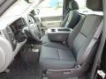 2012 Black Chevrolet Silverado 1500 Work Truck Regular Cab 4x4  photo #13