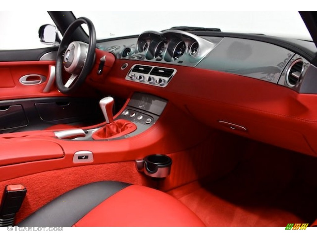 2000 Bmw Z8 Roadster Sports Red Black Dashboard Photo 81921463 Gtcarlot Com