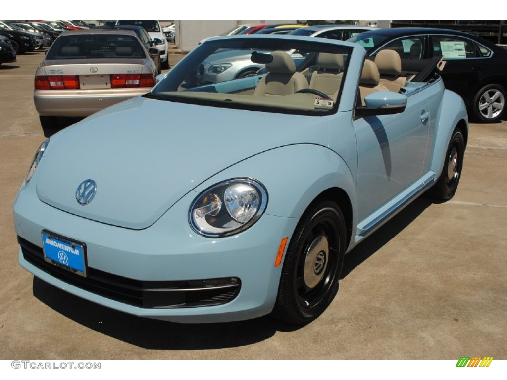 denim blue volkswagen beetle  convertible  photo  gtcarlotcom car color