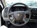 2013 Chevrolet Silverado 1500 Dark Titanium Interior Steering Wheel Photo