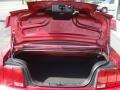 2006 Redfire Metallic Ford Mustang V6 Premium Convertible  photo #14