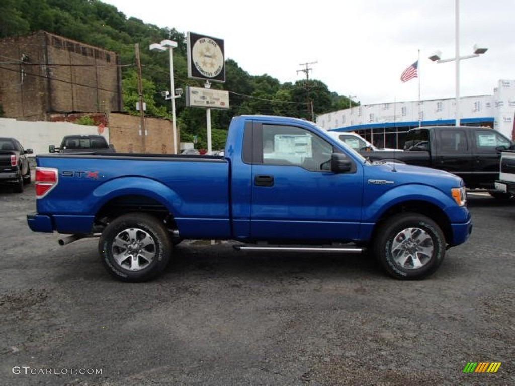 2013 blue flame metallic ford f150 stx regular cab 4x4 81987691 car color. Black Bedroom Furniture Sets. Home Design Ideas