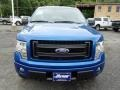 Blue Flame Metallic - F150 STX Regular Cab 4x4 Photo No. 3