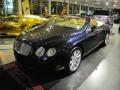 Dark Sapphire - Continental GTC  Photo No. 9