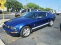 2007 Vista Blue Metallic Ford Mustang V6 Premium Coupe  photo #4