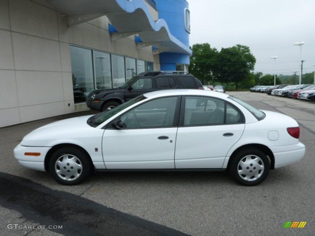 2001 Saturn Sl1 >> White 2001 Saturn S Series Sl1 Sedan Exterior Photo