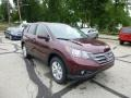 2013 Basque Red Pearl II Honda CR-V EX AWD  photo #1