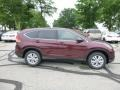 2013 Basque Red Pearl II Honda CR-V EX AWD  photo #2