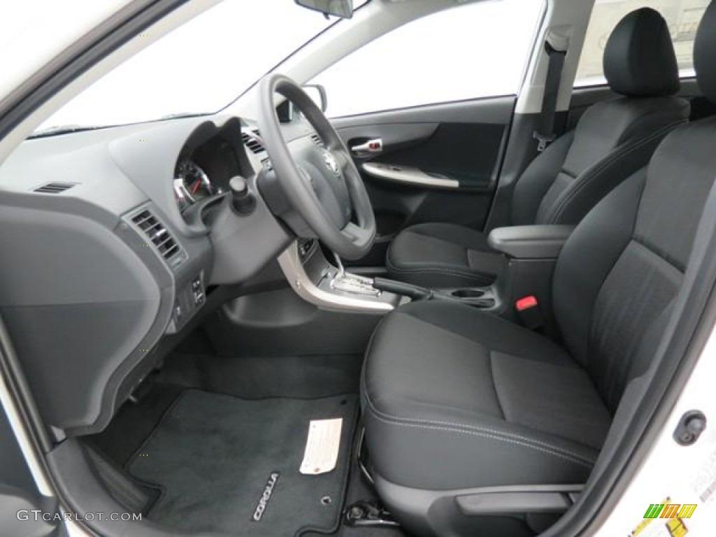 Dark Charcoal Interior 2013 Toyota Corolla S Photo 82013304