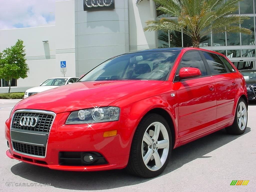 2008 misano red pearl effect audi a3 2 0t 8183695. Black Bedroom Furniture Sets. Home Design Ideas