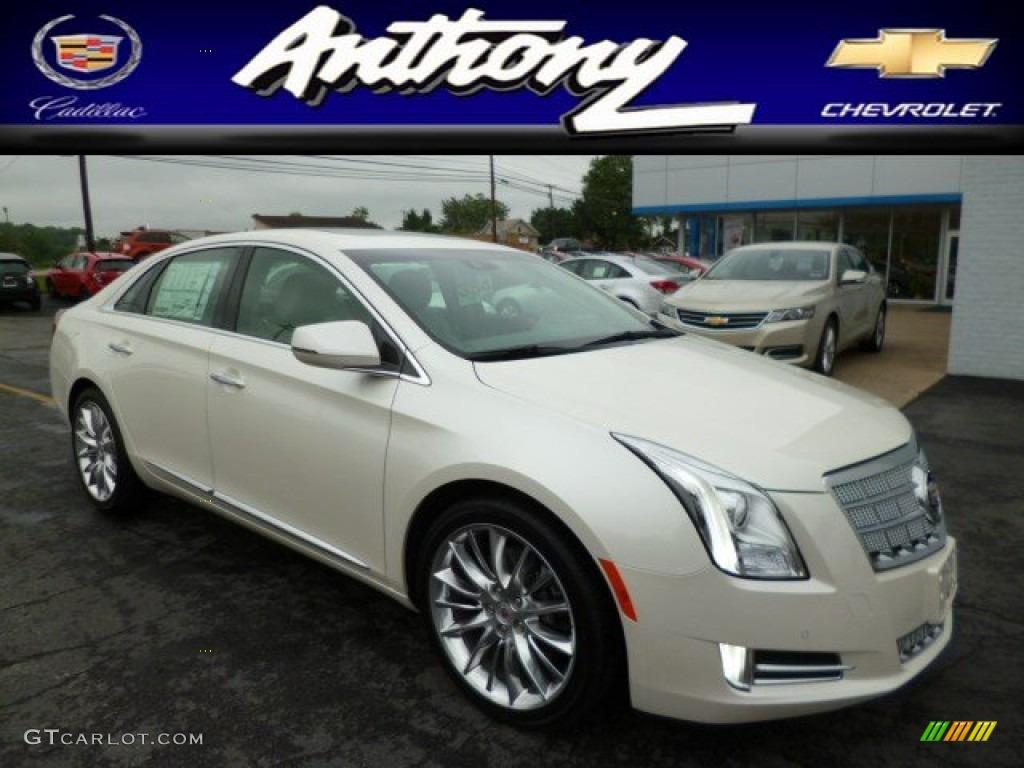 2013 White Diamond Tricoat Cadillac Xts Platinum Awd 81988164 Car Color Galleries