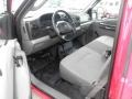 2007 Ford F250 Super Duty Medium Flint Interior Prime Interior Photo