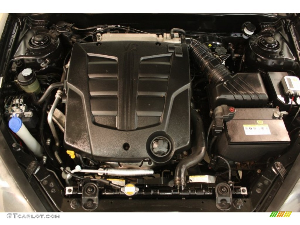 2008 Hyundai Tiburon GT Engine Photos