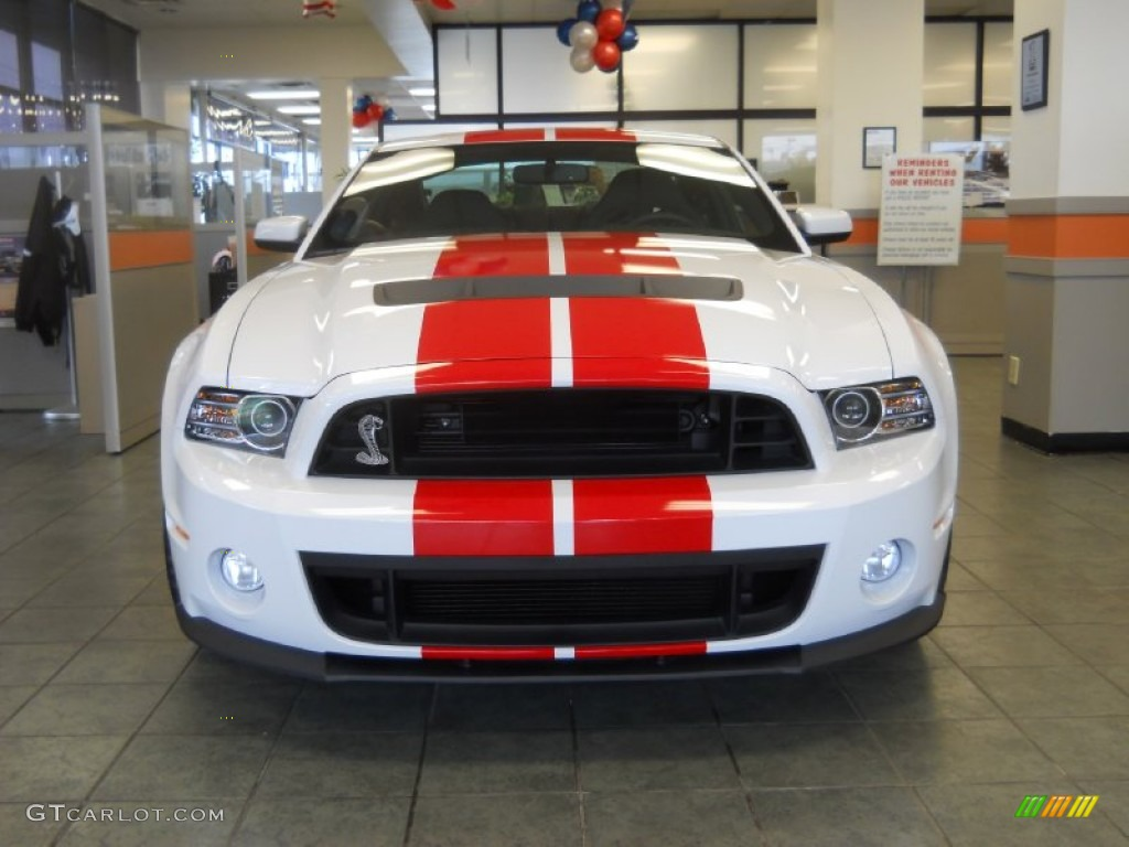 Impact Blue 2014 Ford Mustang Shelby Gt500 Svt Performance Package