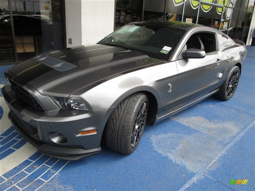 2014 Sterling Gray Ford Mustang Shelby Gt500 Svt