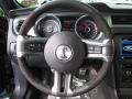 2014 Ford Mustang Shelby Charcoal Black/Black Accents Interior Steering Wheel Photo