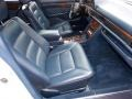 Front Seat of 1991 S Class 420 SEL