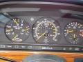 1991 S Class 420 SEL 420 SEL Gauges