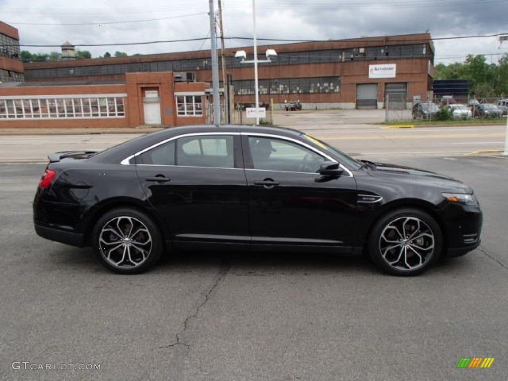 Tuxedo Black Metallic 2013 Ford Taurus Sho Awd Exterior