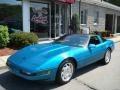 Quasar Blue Metallic 1993 Chevrolet Corvette Gallery