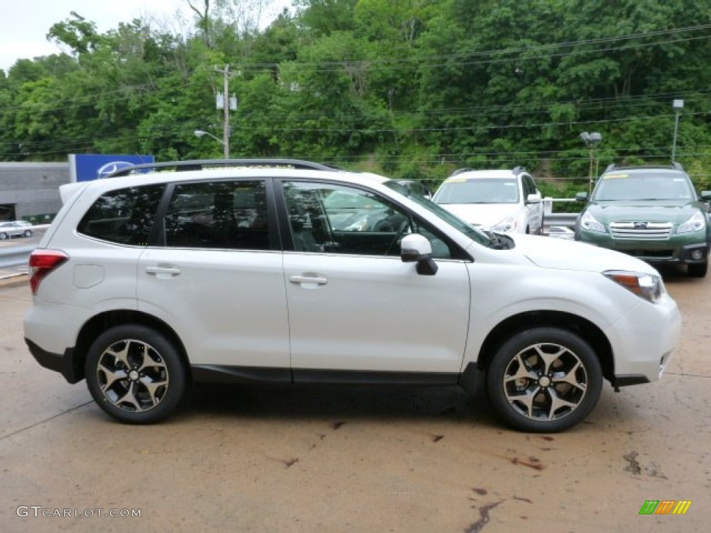 Subaru Forester Satin White Pearl Paint