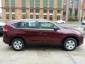 2012 Basque Red Pearl II Honda CR-V LX 4WD  photo #17