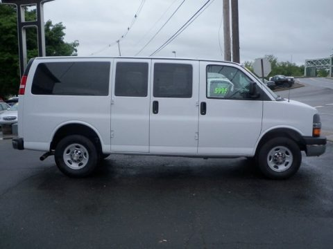 2013 Chevrolet Express LT 2500 Passenger Van Data, Info ...