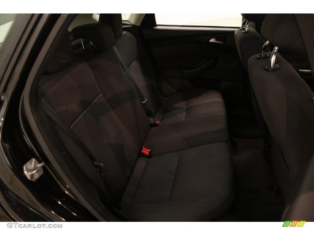 2012 Focus SEL 5-Door - Tuxedo Black Metallic / Charcoal Black photo #11