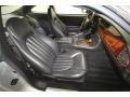 2000 Jaguar XK Charcoal Interior Front Seat Photo