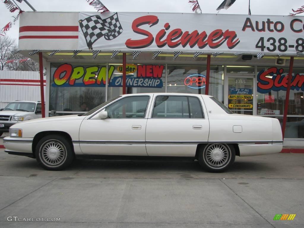 1995 white diamond cadillac deville sedan 8197754 gtcarlot com car color galleries gtcarlot com