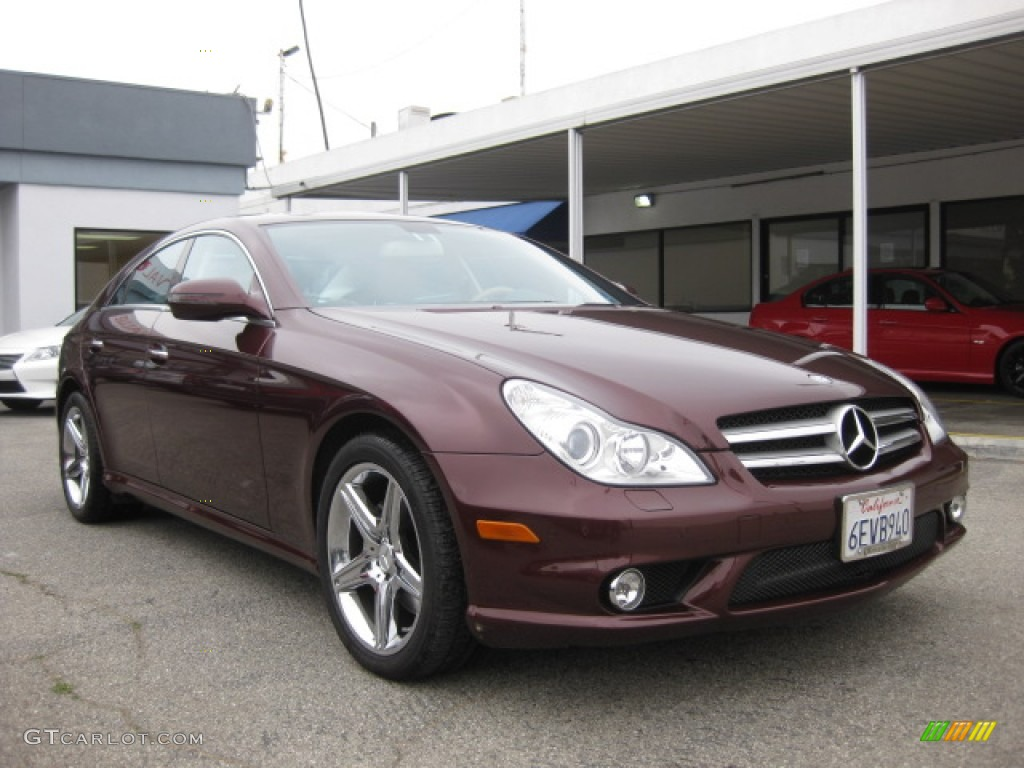 2009 barolo red metallic mercedes benz cls 550 82063173. Black Bedroom Furniture Sets. Home Design Ideas