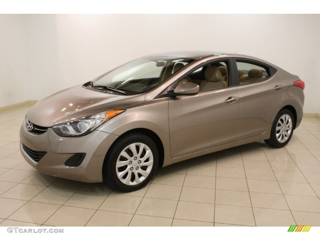 desert bronze 2012 hyundai elantra gls exterior photo. Black Bedroom Furniture Sets. Home Design Ideas