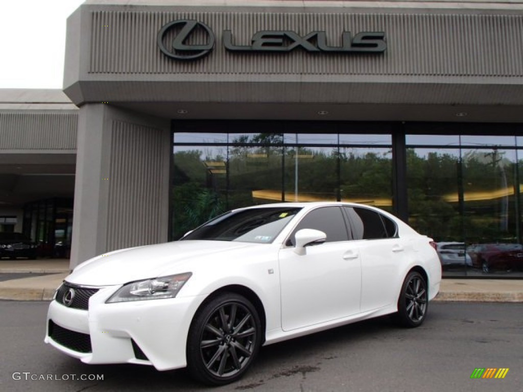 starfire white pearl 2013 lexus gs 350 awd exterior photo 82109656. Black Bedroom Furniture Sets. Home Design Ideas