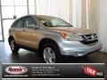 2010 Alabaster Silver Metallic Honda CR-V EX-L  photo #1