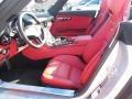 2013 SLS AMG GT Roadster Classic Red designo Interior