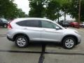 2013 Alabaster Silver Metallic Honda CR-V EX-L AWD  photo #2