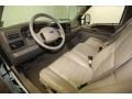2002 Ford F250 Super Duty Medium Parchment Interior Prime Interior Photo