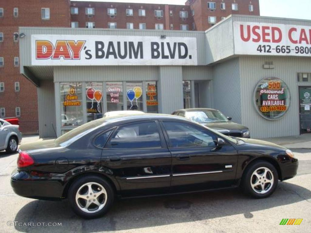 2003 Black Ford Taurus SEL 8188652  GTCarLotcom  Car Color