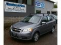 Medium Gray 2009 Chevrolet Aveo LT Sedan