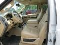 Camel Front Seat Photo for 2010 Ford F350 Super Duty #82154332
